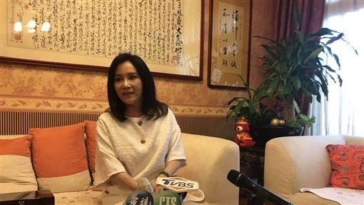 李亞萍開記者會(記者/常朝貴攝影)