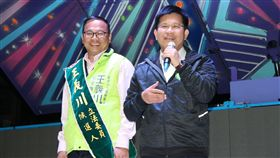 林佳龍、王義川/王義川競選團隊提供