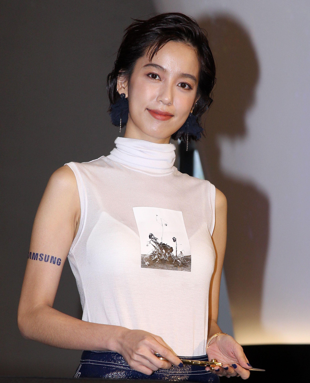 戲劇女神陳庭妮。(記者邱榮吉/攝影)