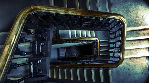 (圖/Pixabay)樓梯,公寓,靈異,恐怖