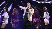 鹿希派&斯亞「Famous PIE」演唱會,鹿希派希哈饒舌嗨翻全場。(記者林士傑/攝影)