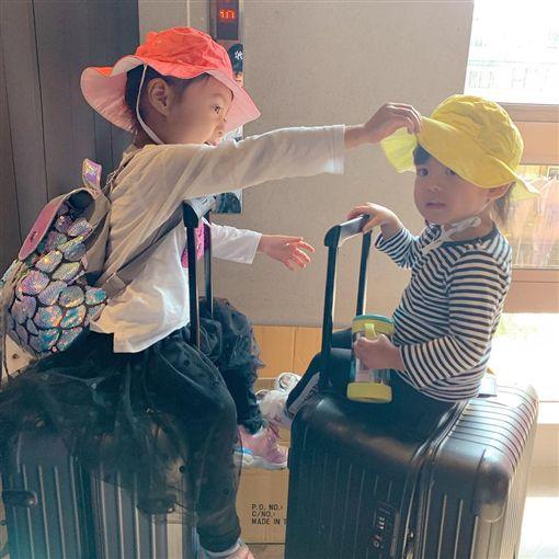 賈靜雯.修杰楷,高雄,咘咘,Bo妞/翻攝自賈靜雯IG