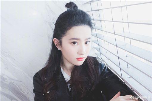 劉亦菲/翻攝自劉亦菲微博