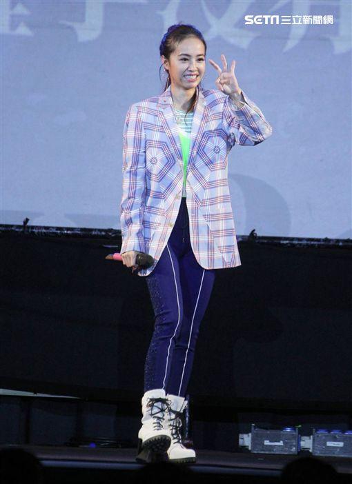 蔡依林(圖/記者邱榮吉攝影)