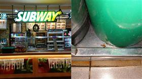 SUBWAY飲料有蟑螂 廚房驚悚照曝光(組圖/翻攝自Subway 京華城店、台北市衛生局提供)