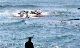 利比亞,地中海,難民,船難(圖/翻攝自推特)
