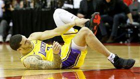 NBA/湖人球哥踝傷 將缺4到6週 NBA,洛杉磯湖人,Lonzo Ball,受傷 翻攝自推特