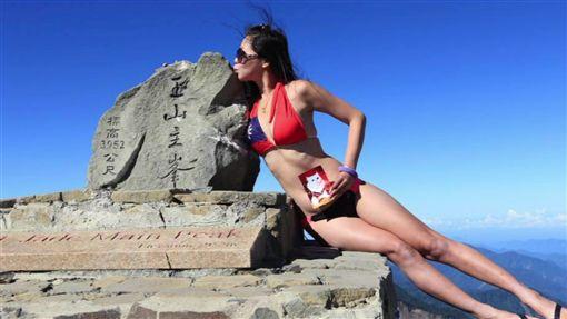 比基尼登山客吳季芸/翻攝自G哥比基尼的高山足跡