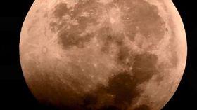 今夜「超級血狼月」,全美可見。(圖/翻攝自P&K Science  YouTube)