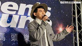 黃子佼出席「星光碼頭樂派對」演唱會。(圖/men's uno提供)