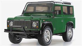 ▲Tamiya推出的Defender 90遙控模型車。(圖/翻攝網站)