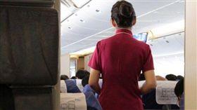 空姐,飛機,空服員,航空,旅行(圖片來源:lawrence wang,cc licensed)
