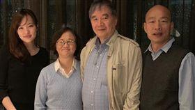 陳文茜親友與韓國瑜及韓冰合照