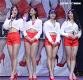 Star Girls 2019渣男剋星神曲「鬼亂怕火」新歌EP發表。(記者邱榮吉/攝影)