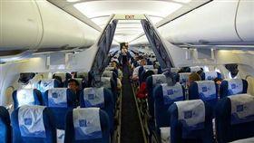 飛機座位。(圖/翻攝自新浪專欄)