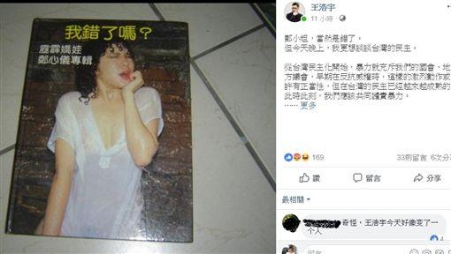 文化部長,鄭麗君,鄭惠中,王浩宇,寫真集圖/翻攝臉書、露天拍賣