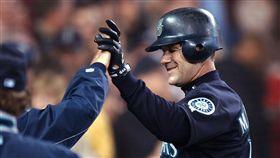西雅圖水手隊傳奇球星Edgar Martinez。(圖/美聯社/達志影像)