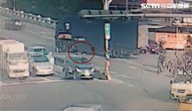 大貨車,母女,爆頭,台南,翻攝畫面