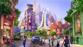 上海迪士尼將推出動物方城市主題園區。