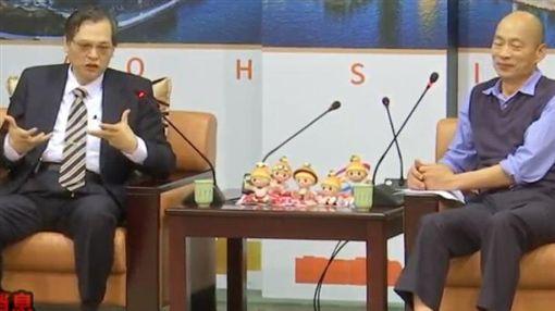 陳明通,韓國瑜,陸委會,高雄,葉匡時 圖/翻攝畫面