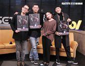 邱昊奇、Junior、汪建民、林雨葶安安大明星。(記者邱榮吉/攝影)