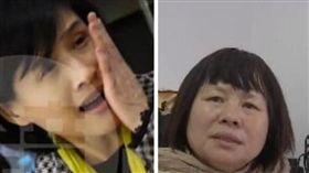 鄭麗君遭摑/蔣月惠心疼:善良台灣人 被打還說「沒事」(合成圖/鏡周刊授權、資料照)
