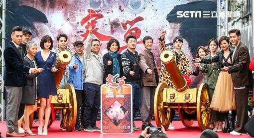 電影《寒單》西門町封街首映。(圖/想亮影藝提供)