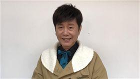 黃西田參加華視《黃金年代》節目錄影。(圖/常朝貴攝影)