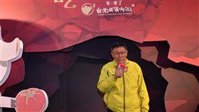 0123台北市長柯文哲出席迪化街年過大街活動,北市府提供