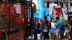 公路總局籲春節假期多利用公共運輸公路總局23日舉行花蓮地區春節疏運記者會,鼓勵民眾於連假期間儘量搭乘公共運輸工具,紓解交通壅塞。中央社記者李先鳳攝 108年1月23日