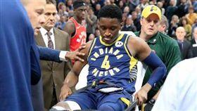 NBA/沃神曝:歐拉迪波恐整季報銷 NBA,印第安納溜馬,Victor Oladipo,膝傷,手術 翻攝自推特