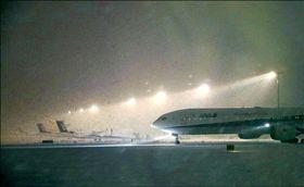 北海道新千歲機場(圖/翻攝自推特)