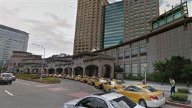 新北,板橋車站,舉發,取締,違規。翻攝自Goolge Map