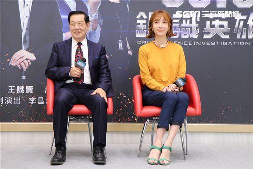 李昌鈺和名模蔡淑臻《鑑識英雄II正義之戰》圖/中視提供