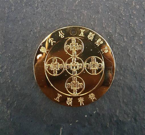 姜太公在此「五路財神殿」 柯媽初三分送「魚幣錢母」