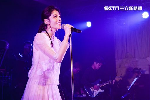 李千那新歌演唱會。(圖/樂是達提供)