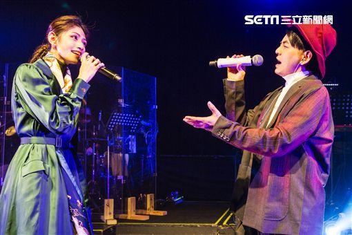 李千那、黃子佼,李千那新歌演唱會。(圖/樂是達提供)