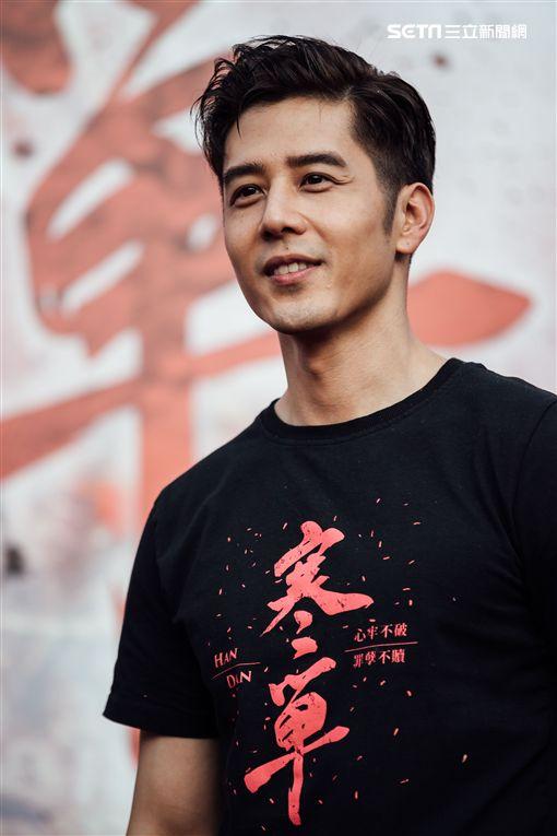 胡宇威出席《寒單》高雄宣傳活動。(圖/想亮影藝提供)