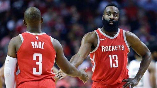 NBA/火箭好消息!保羅歸期近了NBA,休士頓火箭,James Harden,Chris Paul翻攝自推特