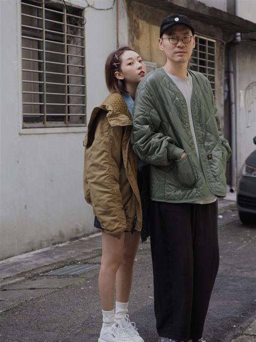 張少懷,翁馨儀(圖/翻攝自臉書)