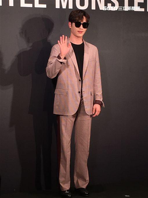 徐康俊出席精品開幕活動。(圖/記者常朝貴攝影)