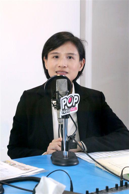 文化部長鄭麗君上廣播《POP搶先爆》專訪,《POP搶先爆》提供