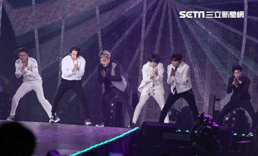 Super Junior。(圖/記者邱榮吉攝影)