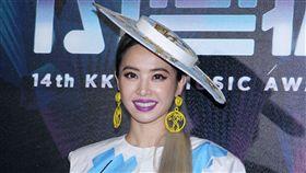 蔡依林出席KKBOX。(圖/記者邱榮吉攝影)