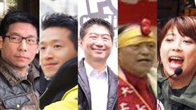 王奕凱、何志偉、陳炳甫、陳源奇、陳思宇,組合圖資料照