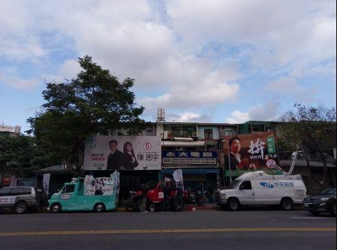 PTT網友拍攝1/27下午三點半經過陳思宇總部冷清照片,PTT