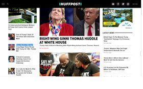 美國重量級免費線上新聞業者BuzzFeed及「哈芬登郵報」(HuffPost)本週雙雙受新一波裁員行動衝擊,顯示依靠廣告生存的經營模式受到威脅。(圖/翻攝自哈芬登郵報)