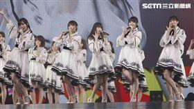 「乃木坂46」首攻台北小巨蛋開唱。(圖/好玩國際文化)