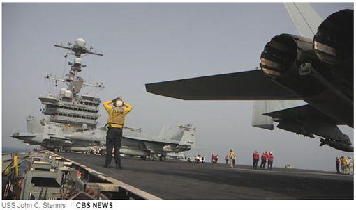 斯里蘭卡反制中國殖民陰謀 提供美軍航空母艦貨物駁運服務(圖/翻攝CBS News)