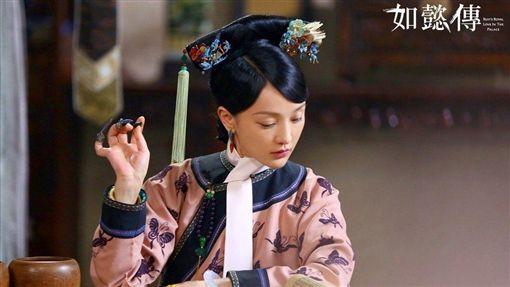 日本網友票選《如懿傳》最受歡迎角色,第一名是「婉嬪」曹曦文,第二名則是「純妃」胡可,第三名才是主角「如懿」周迅。(翻攝微博)